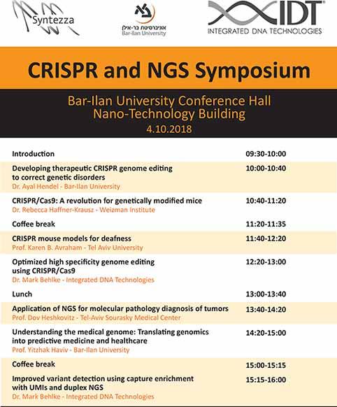 Symposium Bar Ilan Top 3